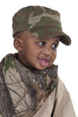 Child soldier — Stock Photo