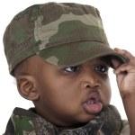Child in uniform — Stock Photo #9391953