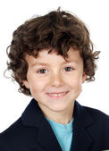 Adorable boy smiling — Stock Photo