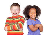 Two beautiful children — Stock Photo