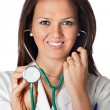 Attractive Lady Doctor — Stock Photo #9424871