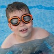 Stock Photo: Child in the pool