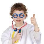 Adorable future doctor — Stock Photo #9425459