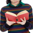 Attractive girl reading — Stock Photo #9429007