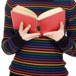 Attractive girl reading — Stock Photo #9429010