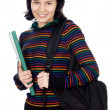 Foto Stock: Attractive girl student