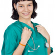 Attractive Lady Doctor — Stock Photo #9429042
