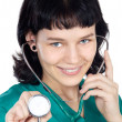 Attractive lady doctor — Stock Photo #9429044