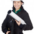 Attractive young engineer — Stock Photo