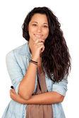 Zamyšlená žena — Stock fotografie