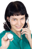 Attractive lady doctor — Stock Photo
