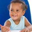 Adorable baby student — Stock Photo #9430720