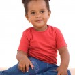Adorable african baby — Stock Photo #9430740