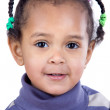 Portrait of adorable african baby — Stock Photo