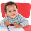 Adorable baby student — Stock Photo