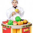 Royalty-Free Stock Photo: Adorable future cook