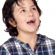 Smiling child without teeth — Stock Photo #9432300