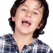 Smiling child without teeth — Stock Photo