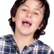 Stock Photo: Smiling child without teeth