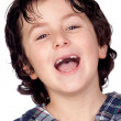 Smiling child without teeth — Stock Photo #9432303
