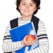 Student child — Stock Photo