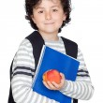 Student child — Stock Photo #9432696