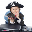 Adorable hacker — Stock Photo #9432765