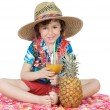 Adorable boy in holidays — Stock Photo #9432844