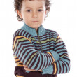 Adorable child sad — Stock Photo