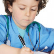 Adorable future doctor — Stock Photo