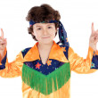 Child hippie - Stockfoto