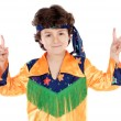 Child hippie - Stock Photo