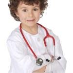 Adorable future doctor — Stock Photo #9433321
