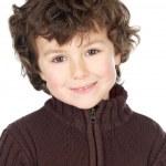 Adorable happy boy smiling — Stock Photo #9433351