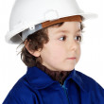 Adorable working future — Stock Photo #9433358