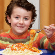 Child eating - Foto de Stock