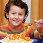 Child eating — Stock Photo #9433471