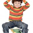 Small student — Stock Photo
