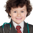 Royalty-Free Stock Photo: Beautiful boy playing to be doctor