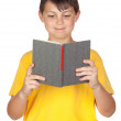 Royalty-Free Stock Photo: Funny child with reading a book
