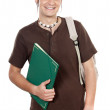 Attractive boy student — Stock Photo