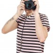 Young photographer — Stock Photo #9435702