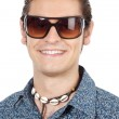 Teen with sunglasses — Stock Photo #9435723