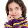Portrait of adorable girl — Stock Photo