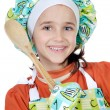 Stock Photo: Adorable future cook