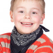 Adorable child with blond hair — Stock Photo