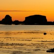 Nice picture of a sunset low tide Nice picture of a sunset low — Stock Photo #9437558