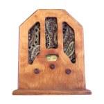 Красивые старые деревянные Радио — Стоковое фото