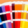 Sample a wide range of colors - Stock Photo