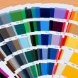Sample a wide range of colors - Foto Stock
